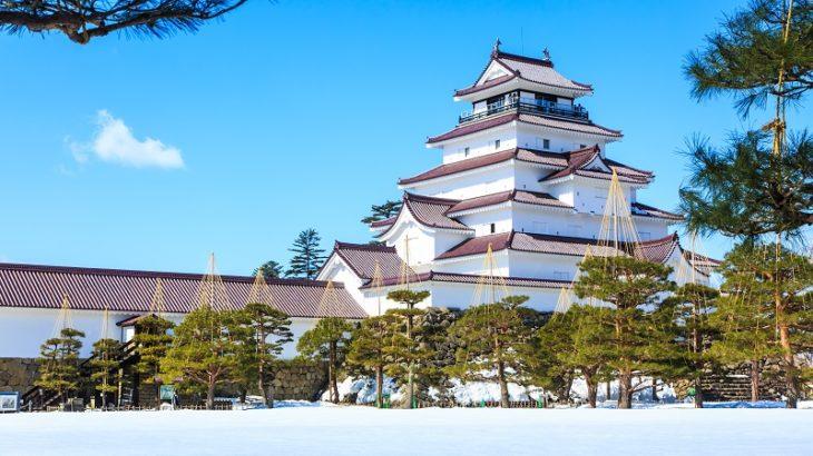 会津若松城(Aizuwakamatsu-Castle)