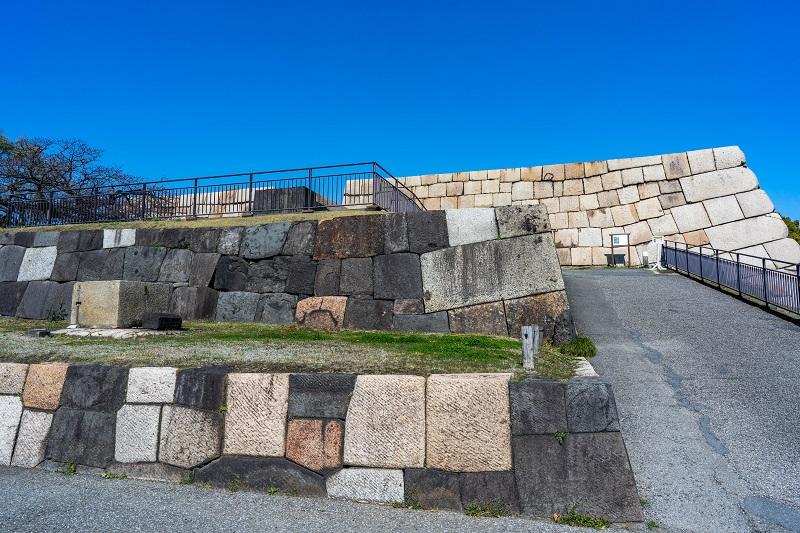 江戸城「天守石垣」