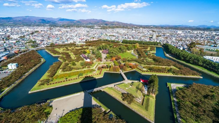 五稜郭(Goryokaku-Castle)