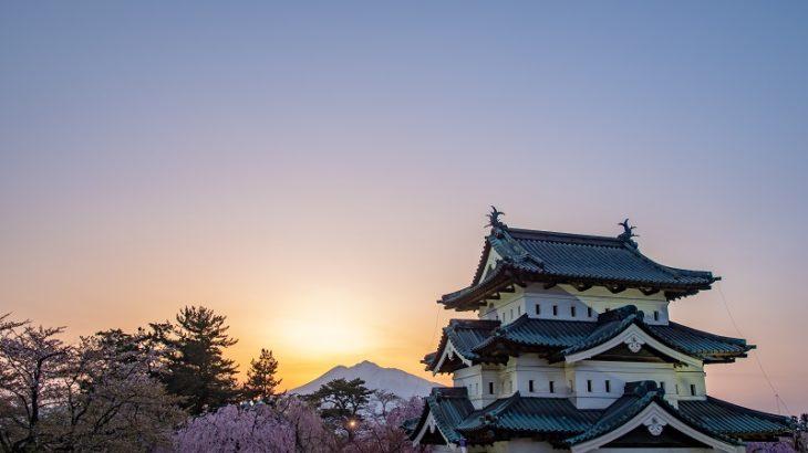 弘前城(Hirosaki-Castle)
