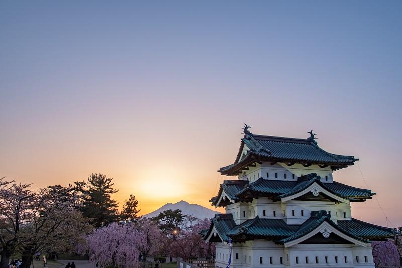 弘前城「現存天守」