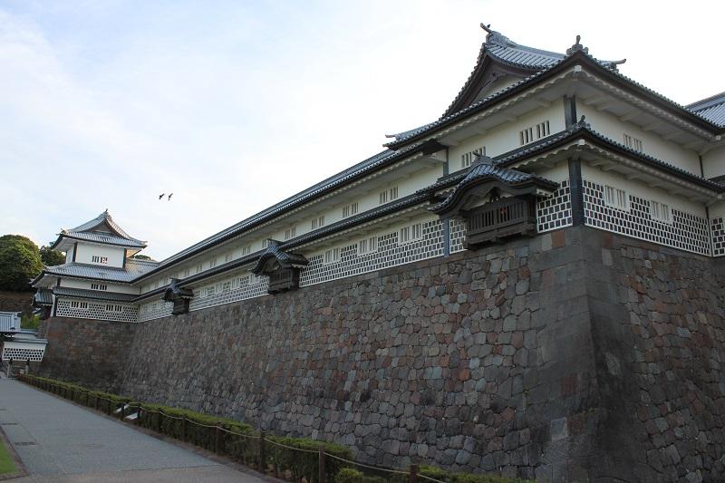 金沢城「五十間長屋」