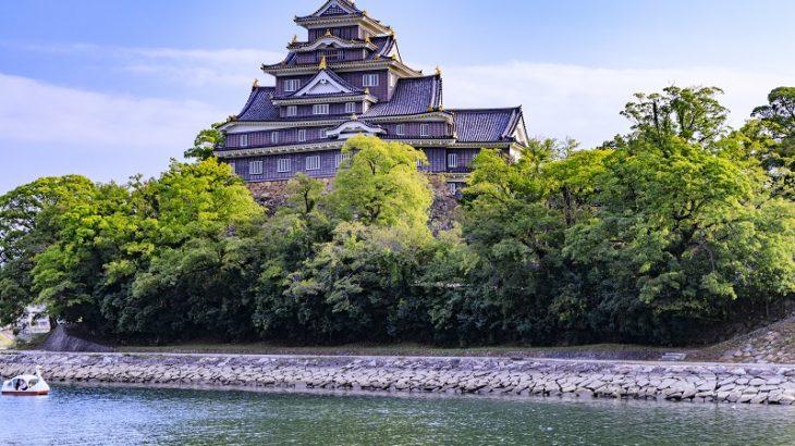 岡山城(Okayama-Castle)
