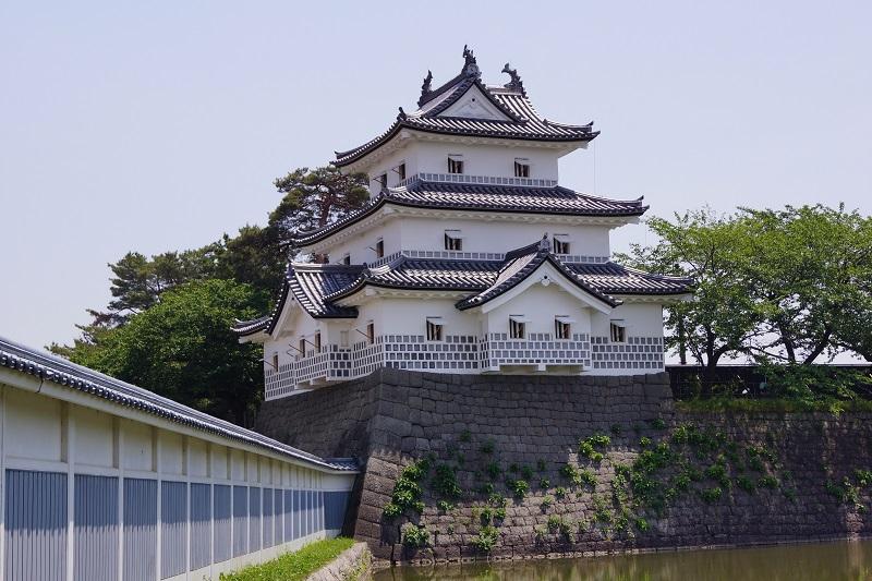 新発田城「三階櫓」