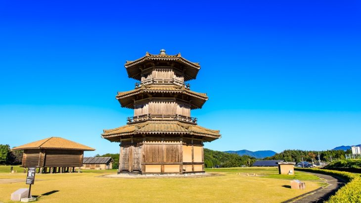 鞠智城(Kikuchi-Castle)