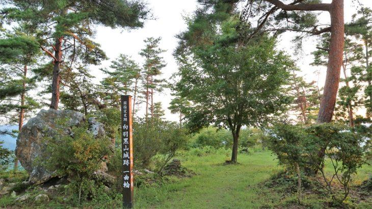 向羽黒山城(MukaiHaguroyama-Castle)