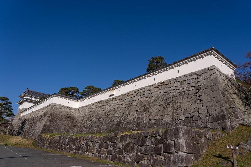 二本松城「三の丸高石垣」