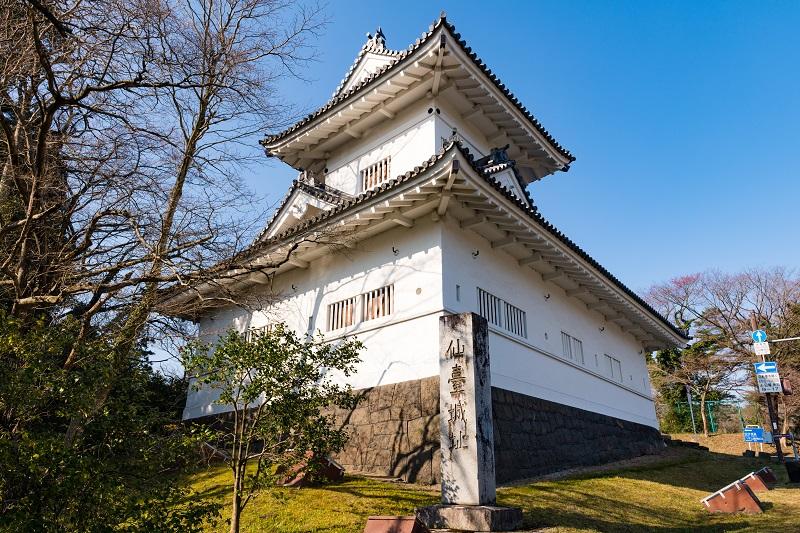 仙台城「大手門隅櫓」