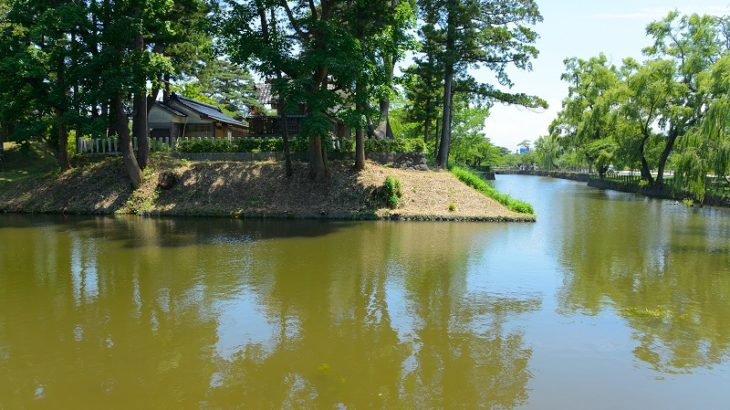 鶴ヶ岡城(Tsurugaoka-Castle)