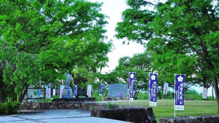 坂本城(Sakamoto-Castle)